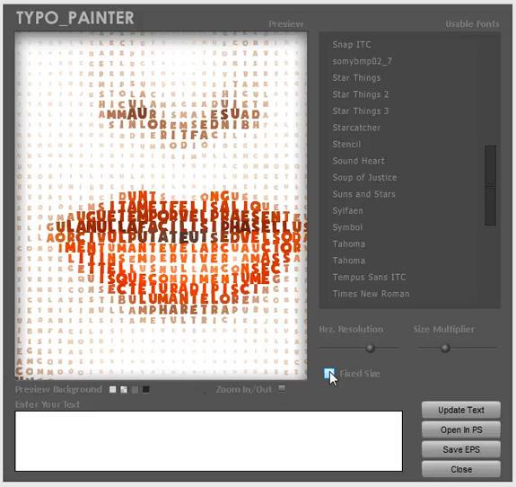 typo-painter