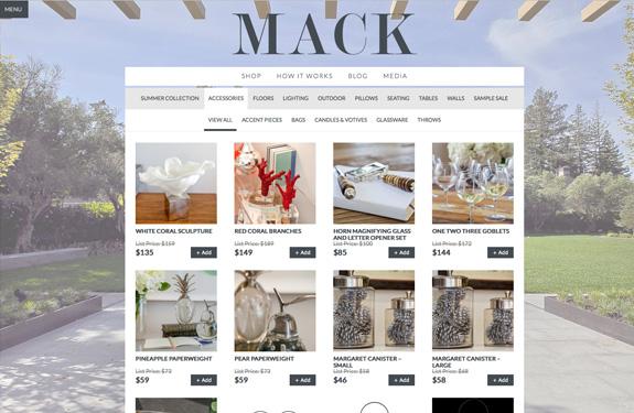 E-commerce inspiration