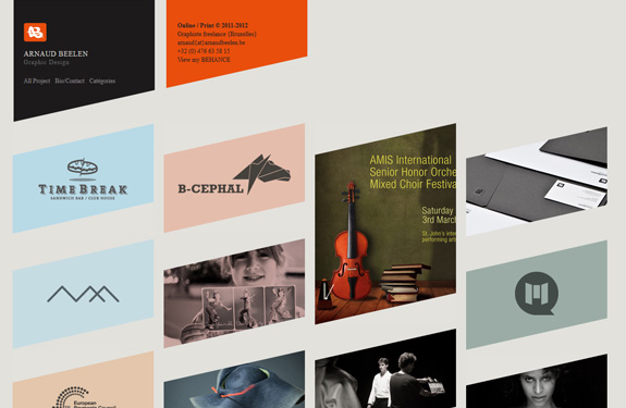 Webdesign angles