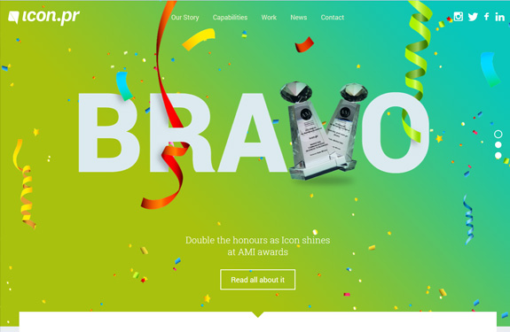 Webdesign inspiration juin 2014