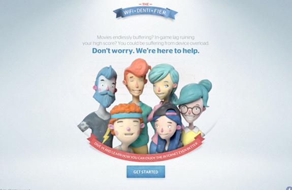Webdesign inspiration juin 2014