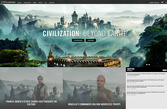 Fabuleux 10 sites de jeux vidéos pour votre inspiration | Webdesigner Trends BB39
