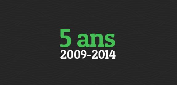 5 ans Webdesigner Trends