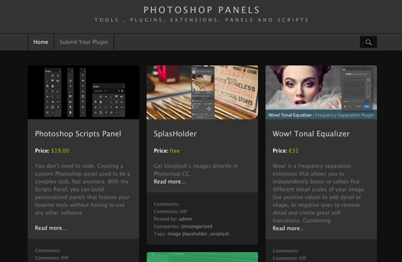 plugin-photoshop-webdesign