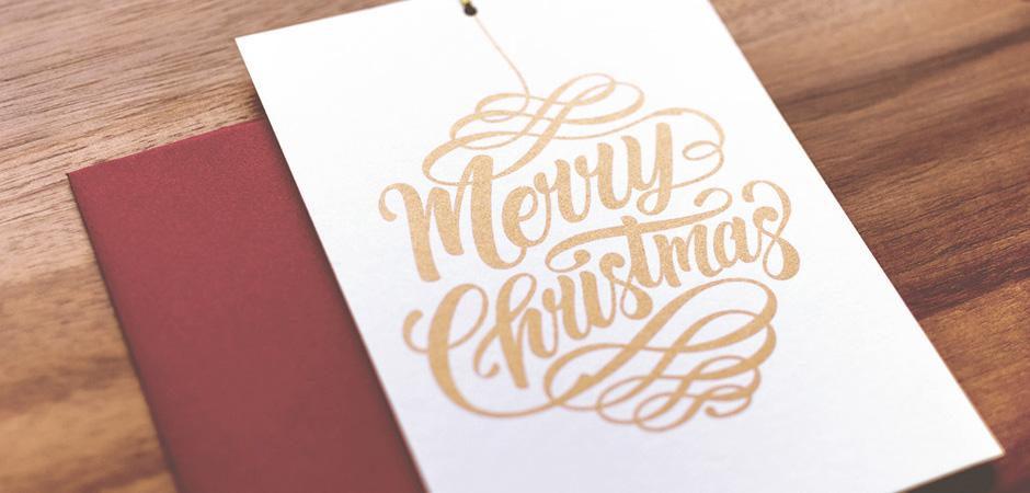 Très 20 cartes de vœux pour votre inspiration | Webdesigner Trends QB82