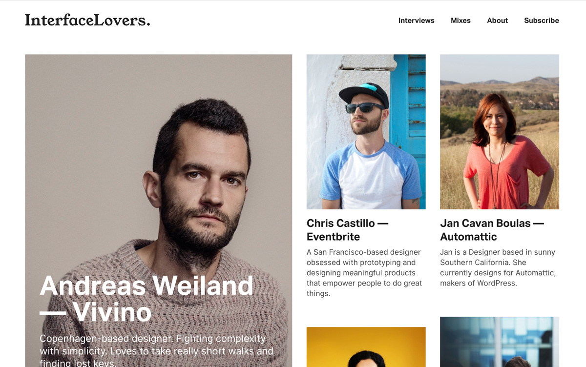 Magazine UI