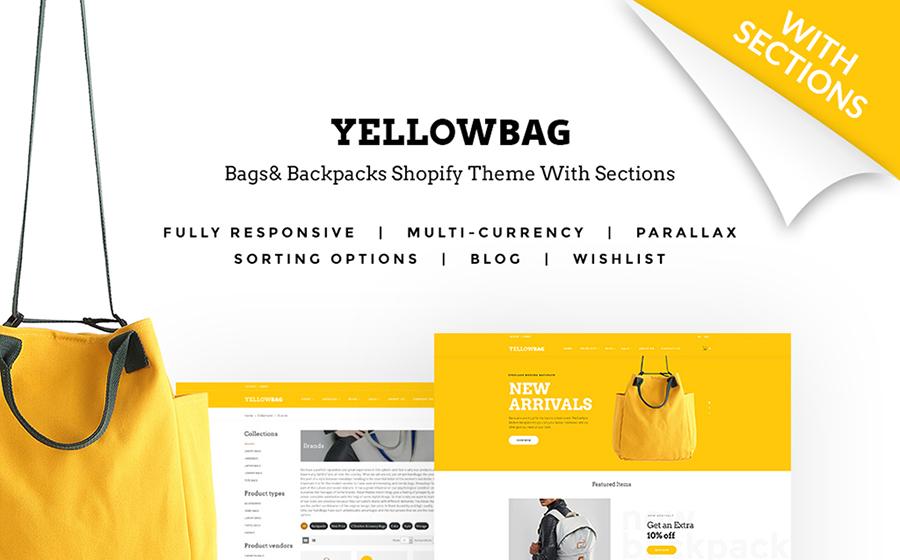 Thème Shopify pour magasin de sacs à main