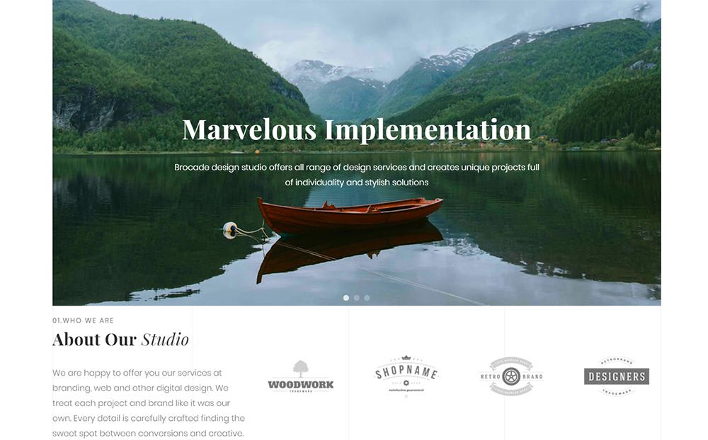 Imagix - Modèle Pro Elementor pour portfolio