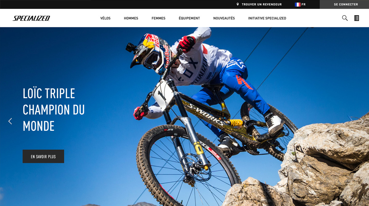 Bike Webdesign inspiration