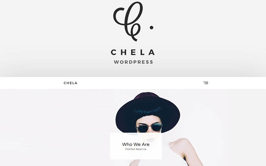Thème WordPress flexible pour sites d'art