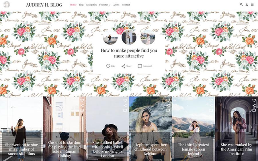 Thème WordPress flexible pour sites d'art et de culture