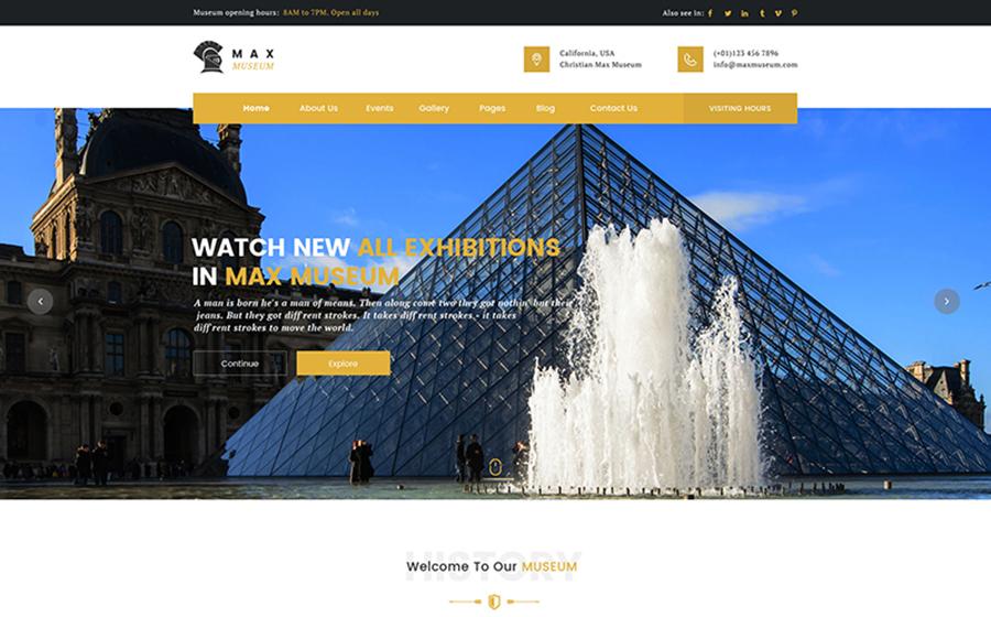 Thème WordPress flexible pour sites de sculpture