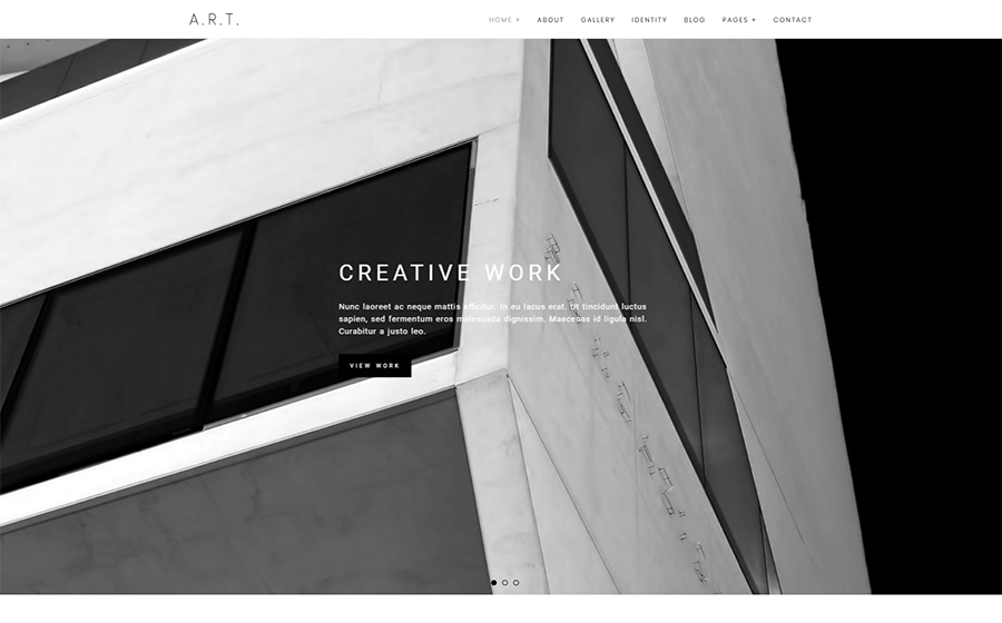 Thème WordPress flexible pour sites d'architecture