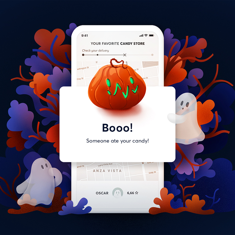 Error message - Halloween edition