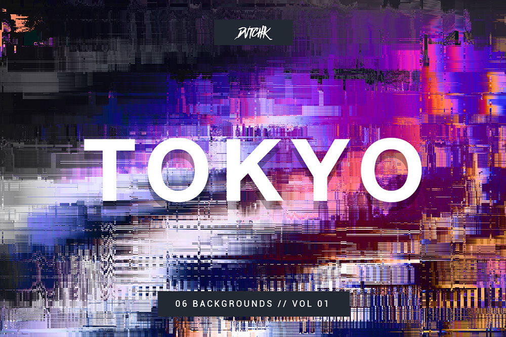 Tokyo | City Glitch | Vol. 01 Background