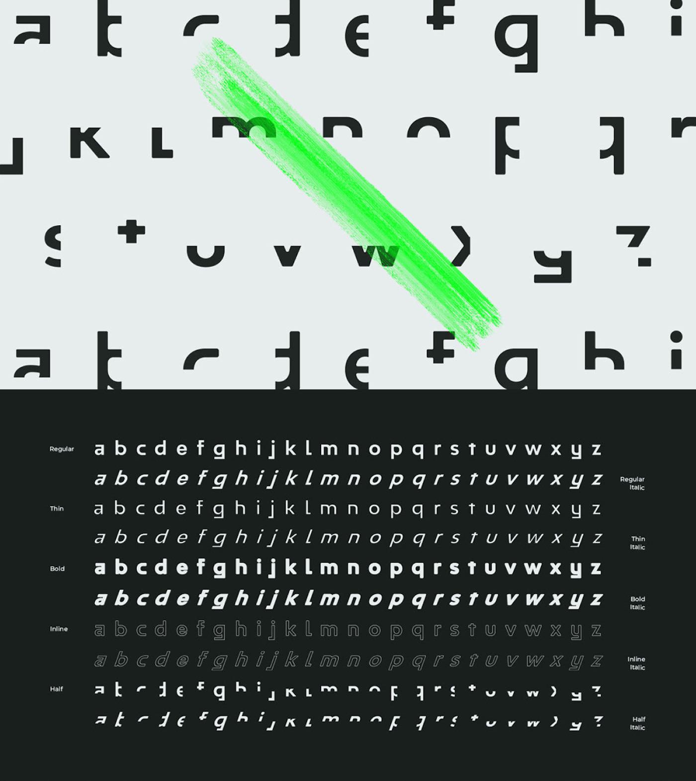 Typographie gratuite