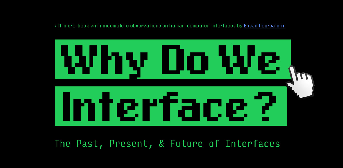 Why do we interface